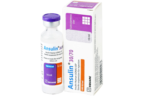 Ansulin<sup>&reg;</sup> Vial